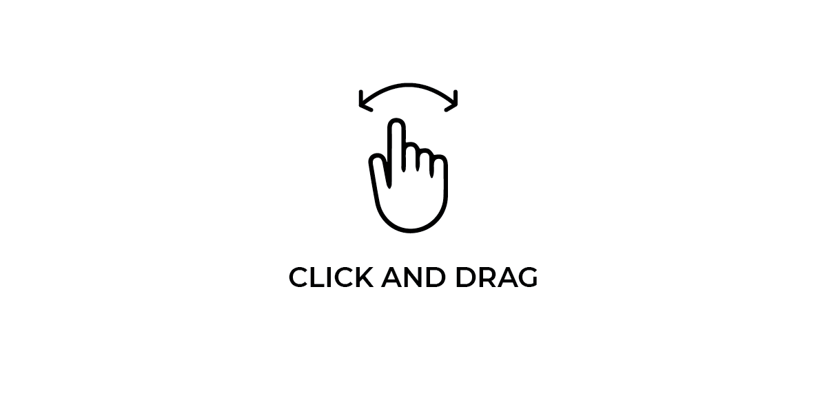 Click and drag